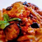 Maccheroni alla siciliana al forno